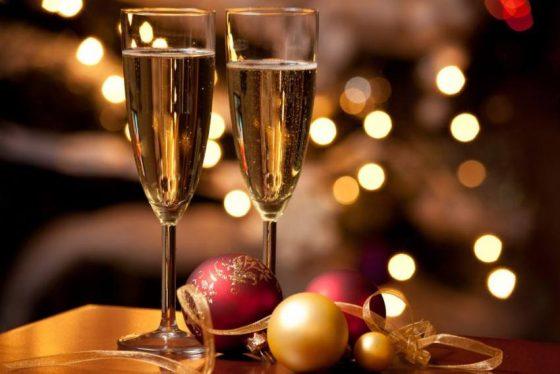 Тверская область на 24 месте по употреблению шампанского в Новый год