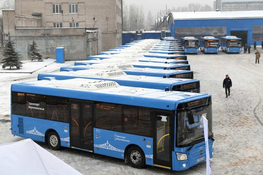 Тверской минтранс сообщил об изменении в схемах движения синих автобусов