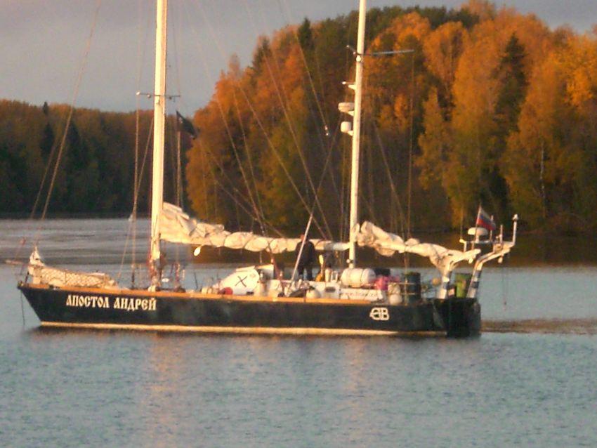 Дневниковые записи с борта яхты «Апостол Андрей». 3 октября