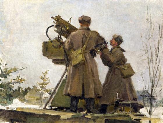 Картинная галерея представила выставку «Художники Калининского фронта»
