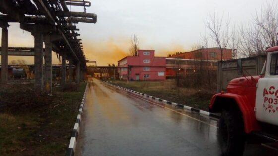 В Тверской области произошел хлопок на складе с ядовитой жидкостью