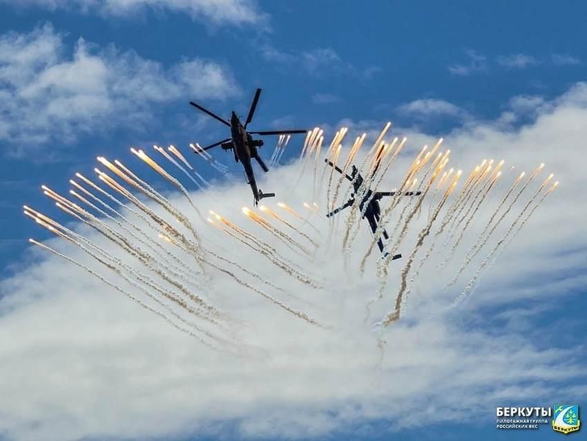 Торжокские «Беркуты» готовятся к полету над Красной площадью
