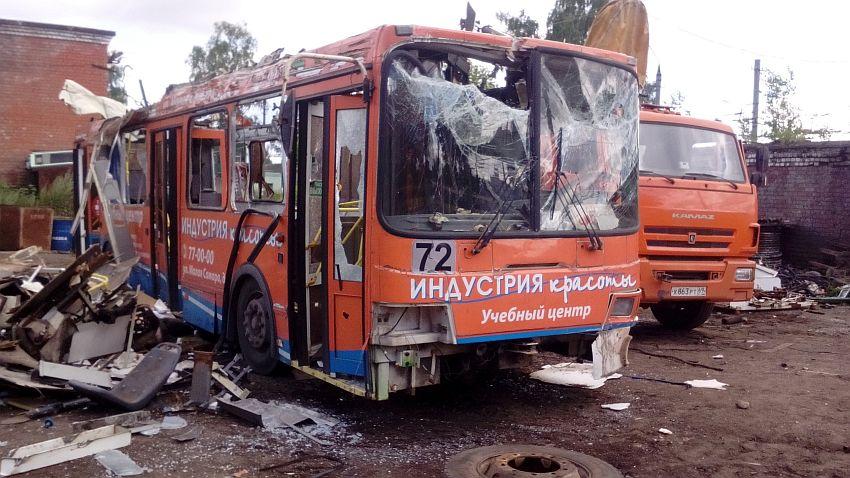 В Твери показали, что осталось от троллейбуса