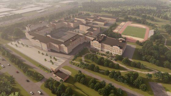 В Твери сдан первый корпус Суворовского училища