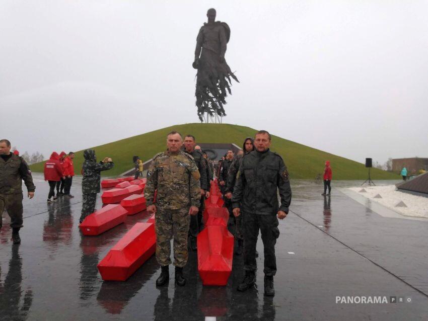 В Ржеве прощаются с бойцами Калининского фронта