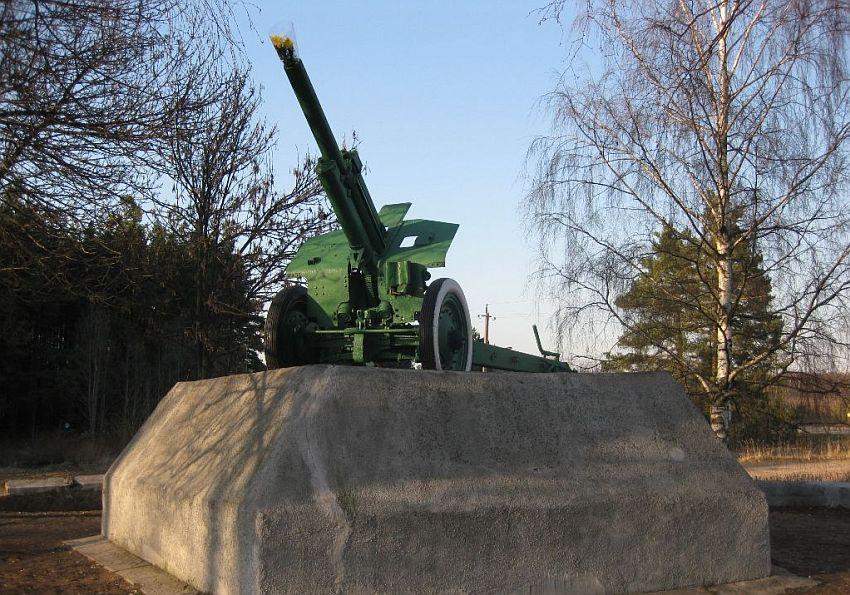 На окраине Твери нашли бесхозную гаубицу-памятник