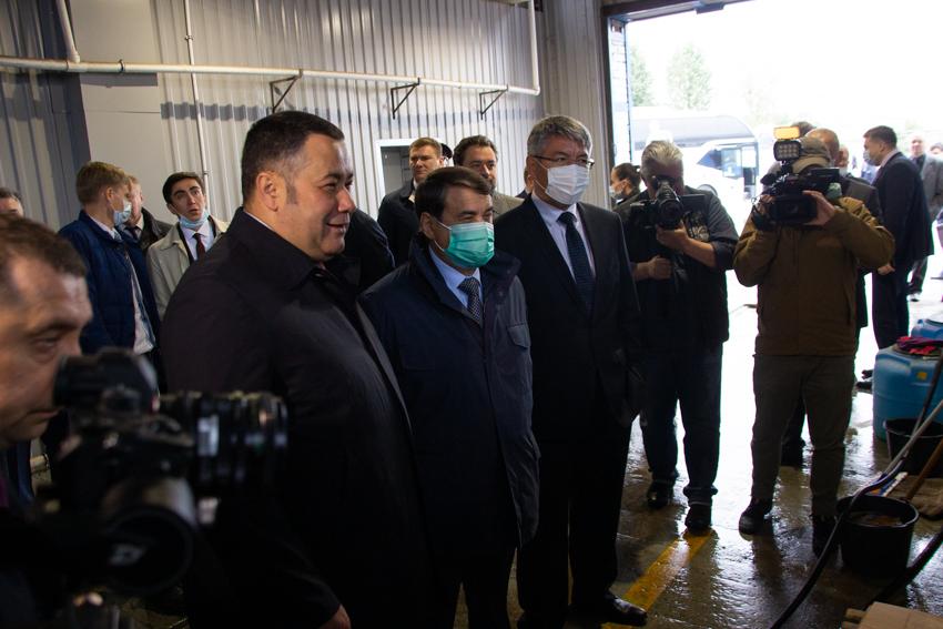 Помощник Президента страны Игорь Левитин оценил транспортную систему Твери