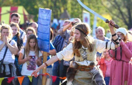 В центре Твери устроят бой на мечах