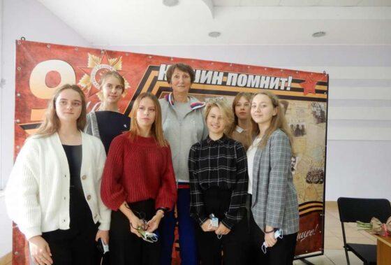Олимпийские чемпионы встретились с юными спортсменами Кашина