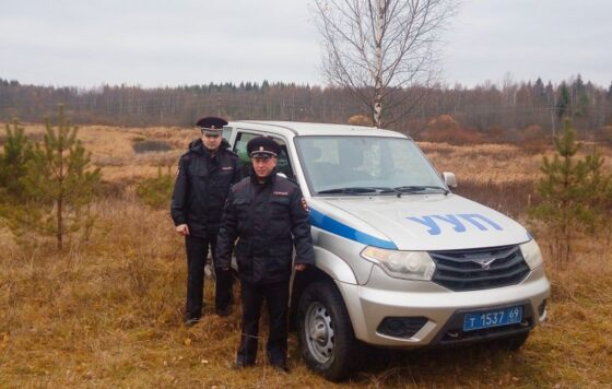 Полиция Фирова получила благодарность за спасение человека