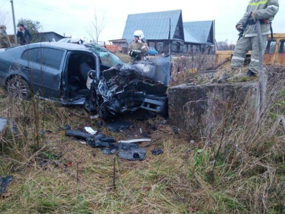 В Тверской области водитель и пассажир переломались в ДТП