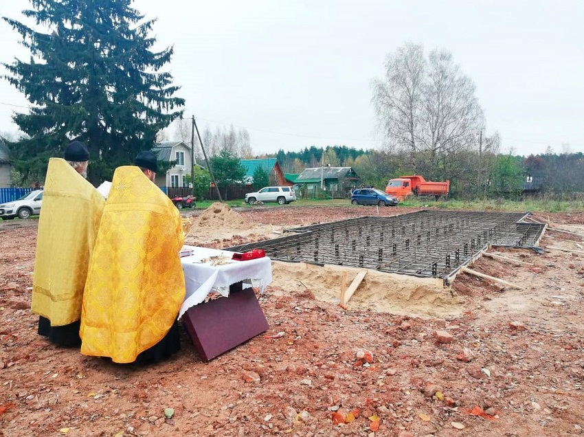 В Калязинском районе меценаты-дачники будут строить храм