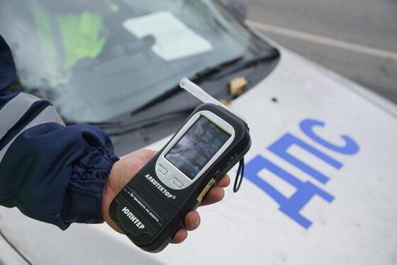 За три дня на дорогах Тверской области остановили более 80 нетрезвых водителей