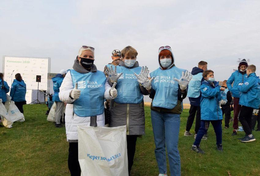 В Тверской области очистили 140 километров берегов