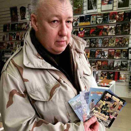 Легенда российской комикс-индустрии Аскольд Акишин едет в Тверь