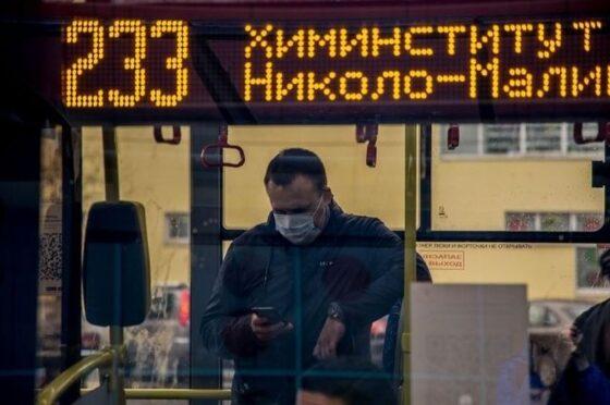 «Транспорт Верхневолжья» считает пассажиров без масок