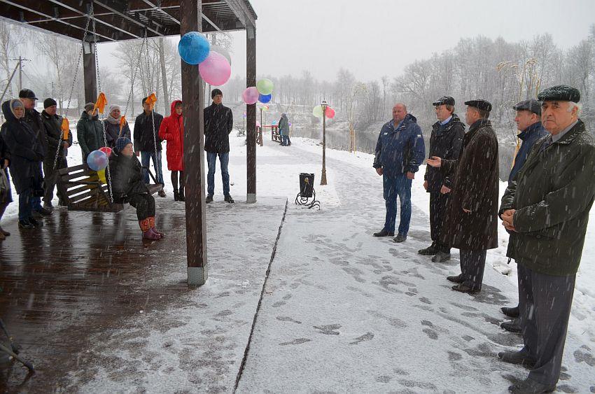 В райцентре Тверской области открыли набережную