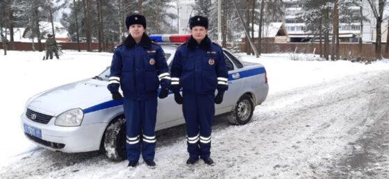 Полицейские из Тверской области помогли роженице добраться до больницы