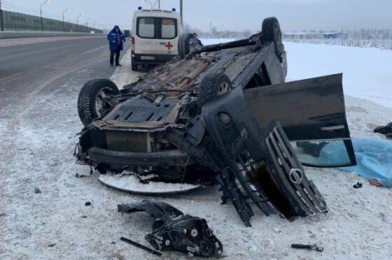 В ДТП под Тверью погиб водитель Nissan