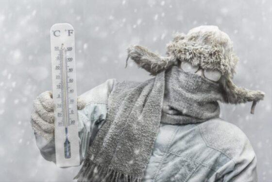 МЧС предупреждает жителей Тверской области о сильных морозах