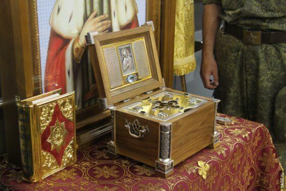 В Тверскую область привезут мощи Александра Невского