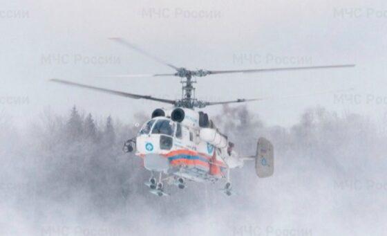 Пациента Бежецкой ЦРБ доставили вертолетом в Тверь