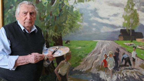 Народного художника, почетного гражданина Тверской области похоронили в Москве