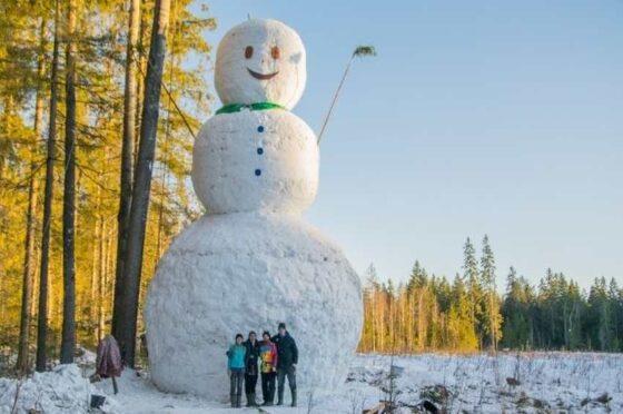 В Твери стартует конкурс на лучшего снеговика