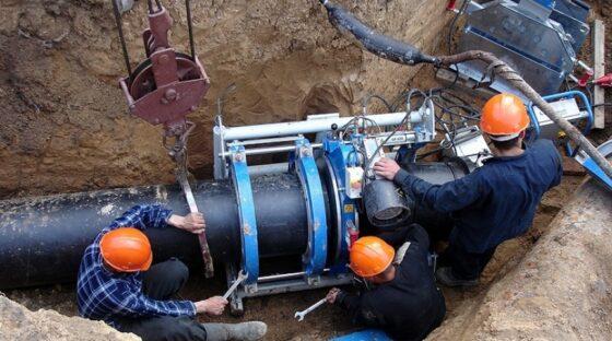 При модернизации водовода в Твери обновят более 5 километров труб