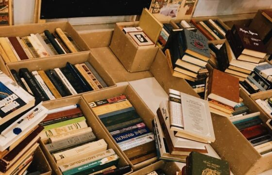 В тверском букинистическом магазине распродадут сотни книг за 1 рубль
