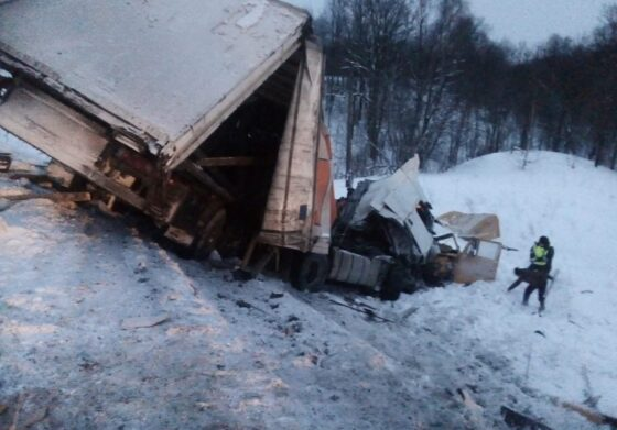 Водитель фуры из Тверской области попал в смертельное ДТП в Башкирии (ВИДЕО)