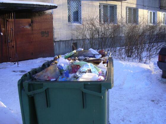 В Медном за переполненные мусорки наказали коммунальщиков