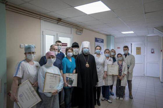 В Тверской области митрополит благословил больных детей
