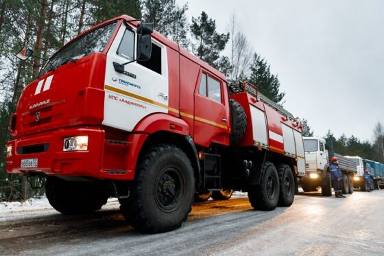 В Тверской области прошли учения по ликвидации разлива нефти при ледоставе