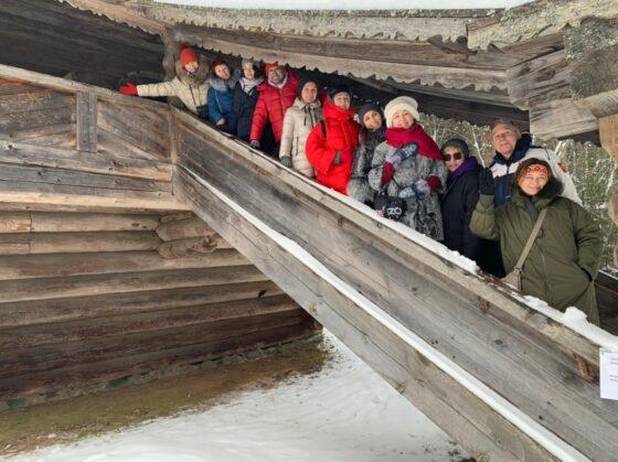 В Торжке с экскурсией побывал клуб путешествий Михаила Кожухова