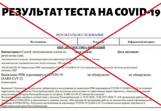 В Тверской области прокуратура нашла сайт, промышляющий  продажей медсправок об отсутствии коронавируса
