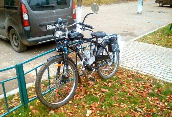 Подростки из Калининского района попали под уголовное дело за чужой мотовелосипед