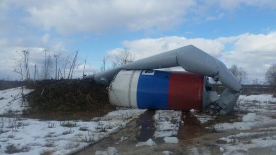 За неделю в Тверской области  падает вторая водонапорная башня