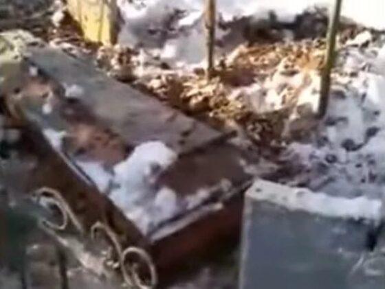 В Тверской области гроб с покойником выкопали на деревенском кладбище и увезли в город