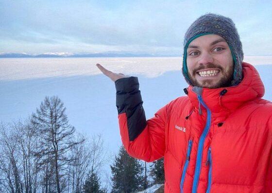 Тверской путешественник покорил Байкал на трековом велосипеде