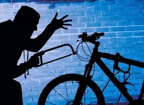 В Вышнем Волочке задержали велосипедного вора