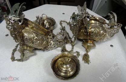 Лампады из монастыря Тверской области могут уйти с аукциона