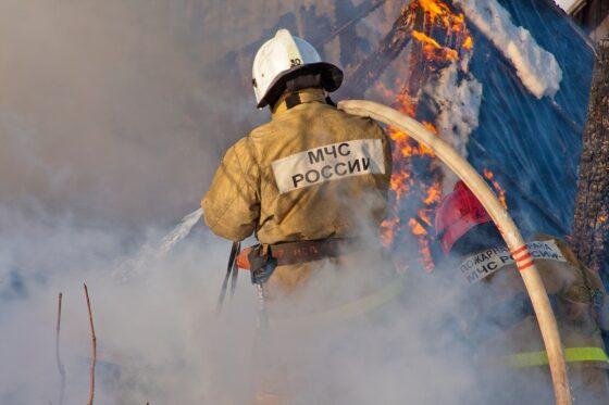 Два человека погибли на пожаре в Кесовогорском районе Тверской области