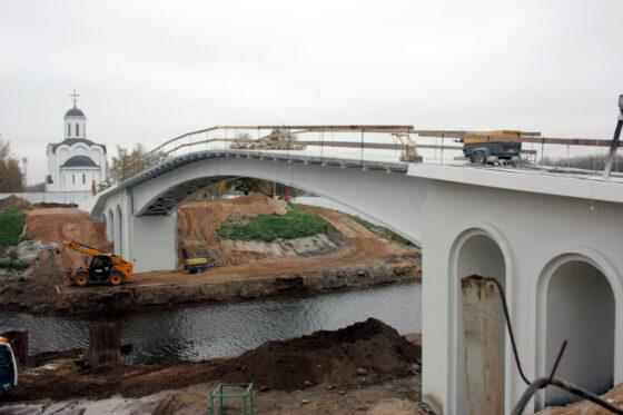 До 1 мая в Твери откроют мост через Тьмаку
