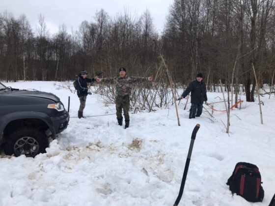 На разведку в Тверскую область выехали московские поисковики