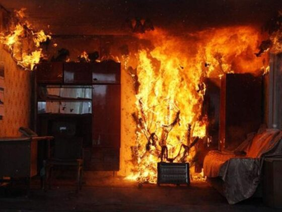 Подо Ржевом в пожаре погиб мужчина