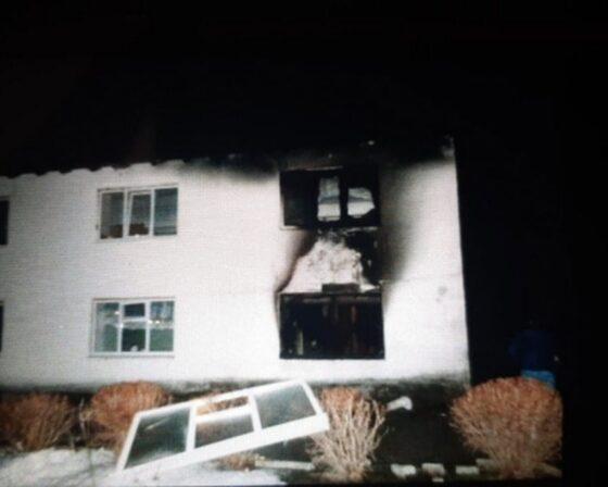 Опубликовано видео пожара в психоневрологическом интернате Торопецкого района