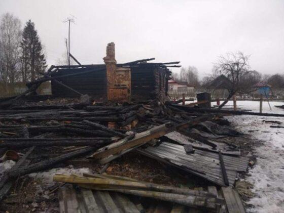 В Западнодвинском районе в огне погибла женщина