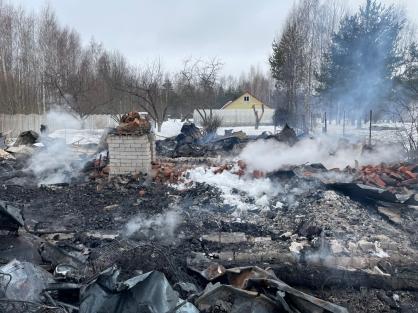 В деревянном доме Калязинского района сгорела 79-летняя пенсионерка