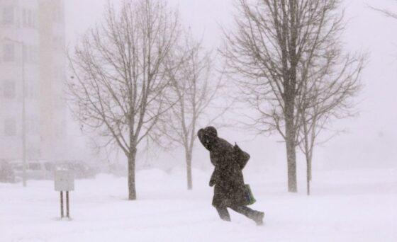 Тверскую область накроет сильный снегопад